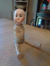 """Small Antique Doll~Bisque Head/Composition? Body~For Repair~NEEDS ARMS~6 3/4""""~"""