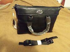 NWT Pabojoe Men's Business Laptop Briefcase Shoulder Messenger Bag Black PBJ8357
