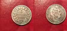 Louis Philippe Ier , 1830-1848 (2) 5 Francs Tete Laurée 1835 K Bordeaux TB