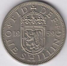 More details for 1959 scottish elizabeth ii one shilling | pennies2pounds