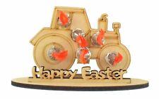 Tractor Shape Kinder Choco Bon Holder Boy Easter Hunt Gift Kinder Creme Egg Gift