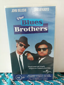 The Blues Brothers VHS John Belushi Dan Aykroyd American Cult Classic VGC