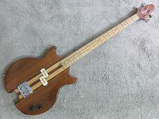 Vintage 1980s O'Hagen 4 String Bass Natural Electric Bass Guitar Masterbuilt