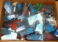 Mega Bloks Dragons Lot 23 lbs Terrain Castle Fire & Ice Ship Tons Of Pieces
