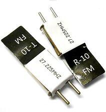 RC telecomando 27 MHz 27.225 FM Crystal 27.225 MHz