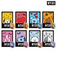 BTS BT21 Official Authentic Goods 108 pcs Tin Case Jigsaw Puzzle 8Characters