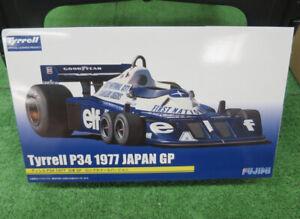 FUJIMI 1/20 Plastic model kit Tyrrell P34 1977 Japan GP 17 Grand Prix Formula 1