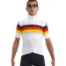Short Sleeve ASSOS Cycling Jerseys with Full Zipper