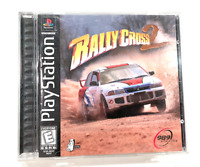 Rally Cross 2 (Sony Playstation 1, PS1) - Complete CIB Tested + Working!