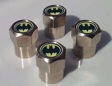 BATMAN ALLOY TYRE VALVE CAPS FOR TIRE VALVES