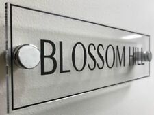 Acrylic Office Rectangle Decorative Plaques & Signs