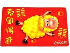 Coca-Cola Coke 2003 Taschenkalender Kalender chinesisches Horoskop Ziege Schaf 4
