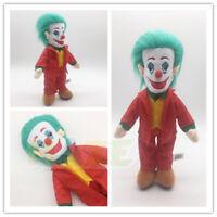 2019 Joker Joaquin Phoenix Authur Fleck Plush Toy Stuffed Doll 30cm New