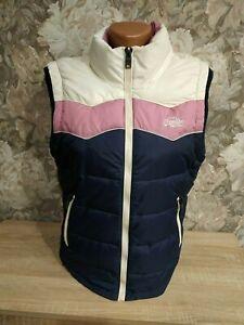 Superdry women's vest jacket size M multi color