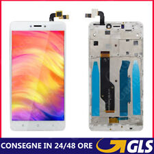LCD DISPLAY PER XIAOMI REDMI NOTE 4 4X CON FRAME TOUCH SCREEN VETRO BIANCA