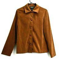 Briggs New York Women's Small 4 Button Light Blazer Style Jacket Coat