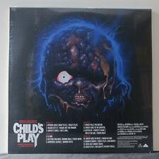 "'CHILD'S PLAY' Soundtrack Ltd. Edition ""CHUCKY"" Colour Vinyl 2LP NEW/SEALED"