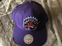 Toronto Raptors Mitchell & Ness NBA Wool Solid Snapback,Hat,Cap      $ 38.00 NEW