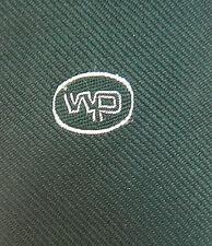 WP Corporate tie Unidentified logo Vintage 1960s 1970s club company Initials W P