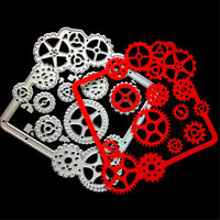 Gear Lace Metal Cutting Dies Stencils for DIY Scrapbooking Album Cards Decor LS