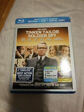 Tinker, Tailor, Soldier, Spy (Blu-ray/DVD, 2012,  Includes Digital C…