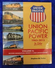 MORNING SUN BOOKS 1639 - UNION PACIFIC POWER In Color 1965-2015 Vol. 4 HC 128 Pg