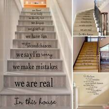 Removable Home Wall Decoration Living Room Stairs Floor Decal Staircase Stickers