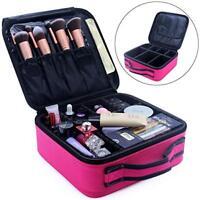 Maleta De Maquillaje Profesional Caja Organizador Maletin Guardar Protector NEW