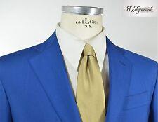 Abito uomo primavera estate fresco lana blu chiaro S.Imparato cod. 650 tg 52