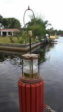 Brass Navigational Beacon~Channel Marker~Ship's Lantern, Light, Lamp