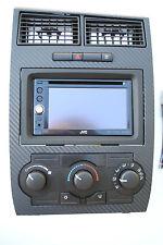 dodge charger magnum Dash Double Din Gps Nav Navigation carbon fiber Bezel onl
