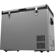 80 QT Portable Chest Freezer & Refrigerator, Compact 12V DC & AC Power Cooler