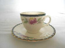 Vintage tea cup & saucer set Italy