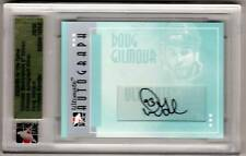Doug Gilmour 05/06 ITG Ultimate Auto Autograph Signed /50 SP COA on Back
