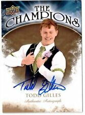 2009-10 09-10 UD THE CHAMPIONS TODD GILLES AUTOGRAPH CH-GI