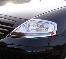 CITROEN C3 CHROME Head Lights Lamps Surround Rims COVERS Set