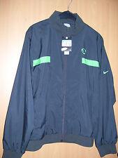 NIKE Trainingsjacke Fussballjacke Jacke grau dunkelgrau anthrazit Grösse M neu