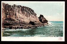1901 rocky Bald Head Cliff York Maine landscape postcard