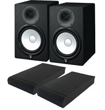COPPIA Yamaha HS8 Monitor da Studio 120W + ISO PADS, Garanzia Italiana