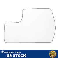 Left Driver Side Mirror Glass Drop Fit Lower Flat Door for 2011-2014 Ford F-150