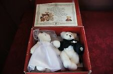"1994 THE BIALOSKY TREASURY LIMITED EDITION ""ANDREW AND ASHLEY"" WEDDING BEARS"