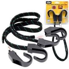 Rolson Set Of 2 Flat Heavy Duty Bungee Cord 24 Inch 600mm Straps
