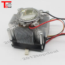 100W LED Aluminium Heat Sink Cooling Fan+ 60° 44mm Lens + Reflector Brack