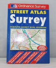 Philip's Street Atlas - Surrey - Map Book - 1996