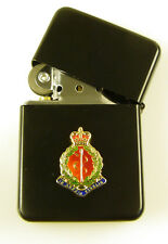 RAMC ROYAL ARMY MEDICAL CORPS CLASSIC WINDPROOF COMBAT BLACK LIGHTER
