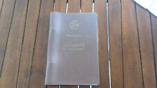 SNCF 1965 manuel  REGLEMENT SECURITE PERSONNEL P9a - document CHEMINOT collector