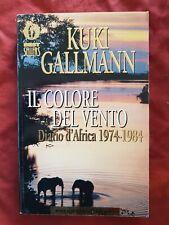 LIBRO Il Colore Del Vento Kuki Gallman Mondadori #TO1