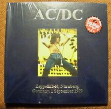 "AC/DC ""ZEPPELINFIELD,NURNBERG,GERMANY,1/9/1979"" DELUXE BOXSET 2LP COPY N.85/145"