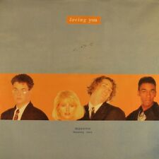 "7"" MASSIVO feat.TRACY Loving You MINNIE RIPERTON/ Half Will Do HIGH FASHION 1990"