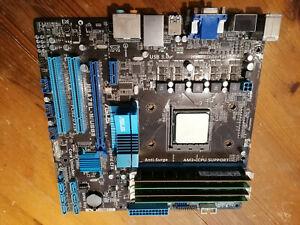 Asus M5A78L-M/USB3 micro atx motherboard - AM3+ withAMD Phenom II X6 1045T 6 cor